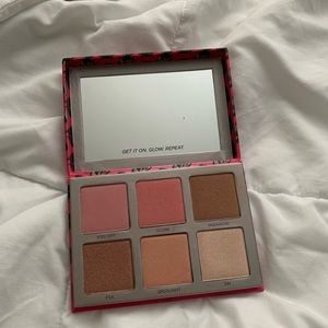 Urban Decay Afterglow Palette - ONLY SWATCHED
